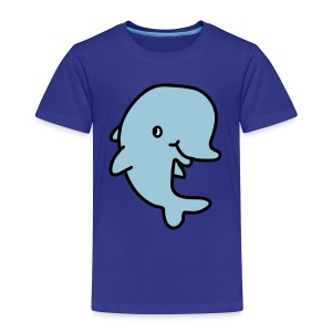 Happy Dolphin - Toddler Premium T-Shirt