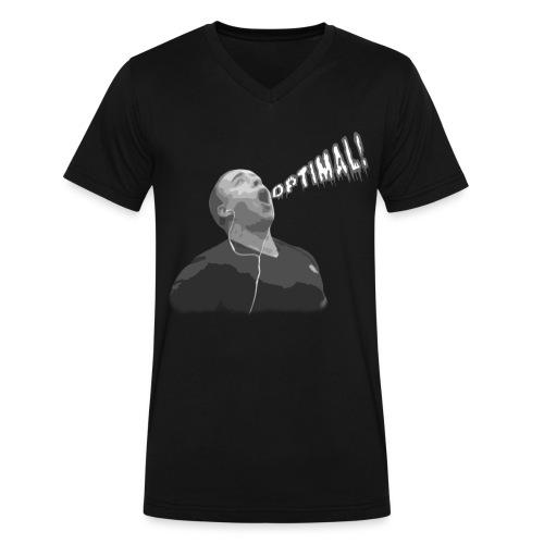 Optimal V-Neck - Men's V-Neck T-Shirt by Canvas