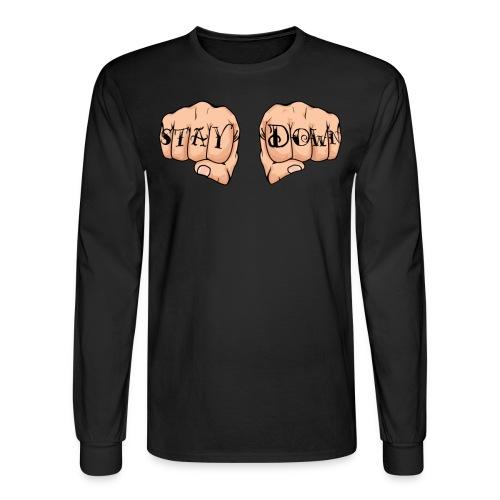 Corey Graves - Stay Down - Men's Long Sleeve T-Shirt
