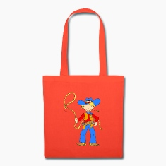 Cowboy with Lasso Bags & backpacks