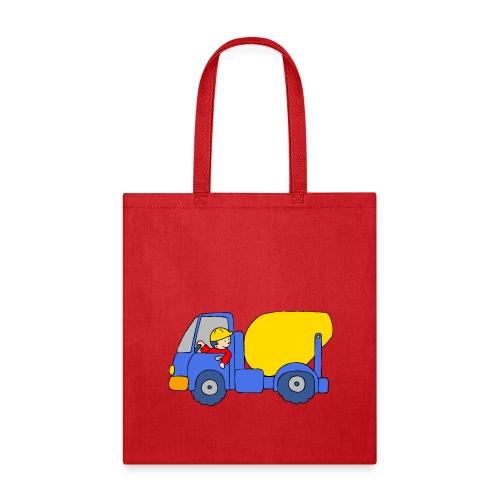 Concrete Mixer Truck - Tote Bag