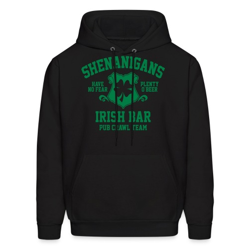 shenanigans irish pub crawl team - Men's Hoodie