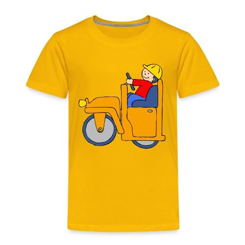 Road Roller - Toddler Premium T-Shirt
