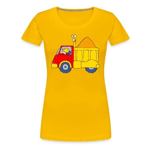 Lorry Truck - Women's Premium T-Shirt