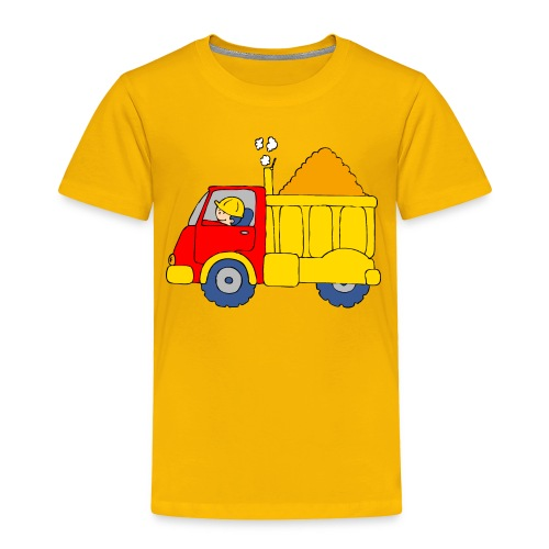 Lorry Truck - Toddler Premium T-Shirt