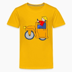Road Roller Kids' Shirts
