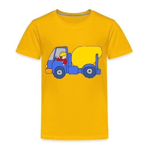 Concrete Mixer Truck - Toddler Premium T-Shirt
