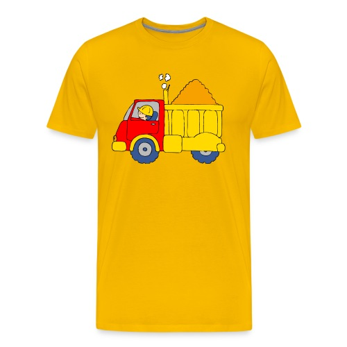 Lorry Truck - Men's Premium T-Shirt
