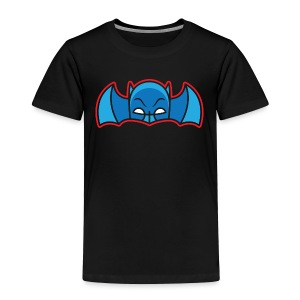 Bat Cowl & Wings - Toddler Black - Toddler Premium T-Shirt
