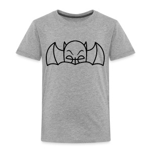 Bat Cowl & Wings - Toddler Heather Grey - Toddler Premium T-Shirt