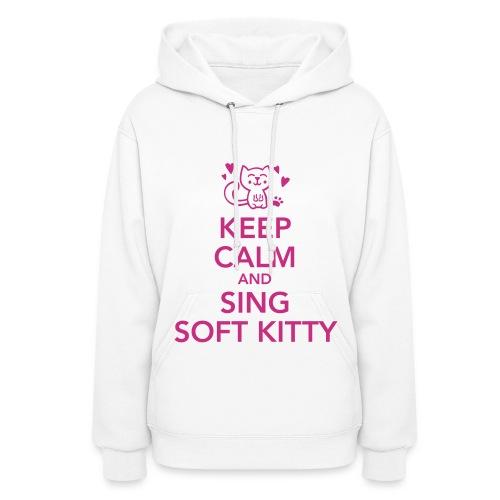 Women's Keep Calm Soft Kitty Hoodie - Women's Hoodie