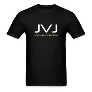 Joe Vitale Jr JVJ Concert T-Shirt (Dark Matter Black) - Men's T-Shirt