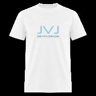 T-Shirts ~ Men's T-Shirt ~ Joe Vitale Jr JVJ Concert T-Shirt (Clean Room White)