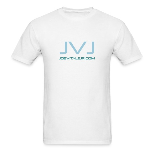Joe Vitale Jr JVJ Concert T-Shirt (Clean Room White) - Men's T-Shirt