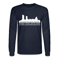 Long Sleeve Shirts ~ Men's Long Sleeve T-Shirt ~ Collegiate Long-sleeve
