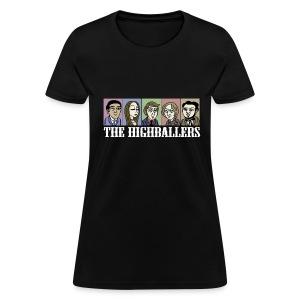 The Highballers King of the Plains Cool Black T-Shirt (Mens) - Women's T-Shirt