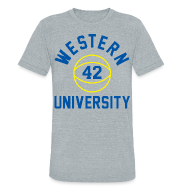 T-Shirts ~ Unisex Tri-Blend T-Shirt ~ BLUE CHIPS, RICKY ROE