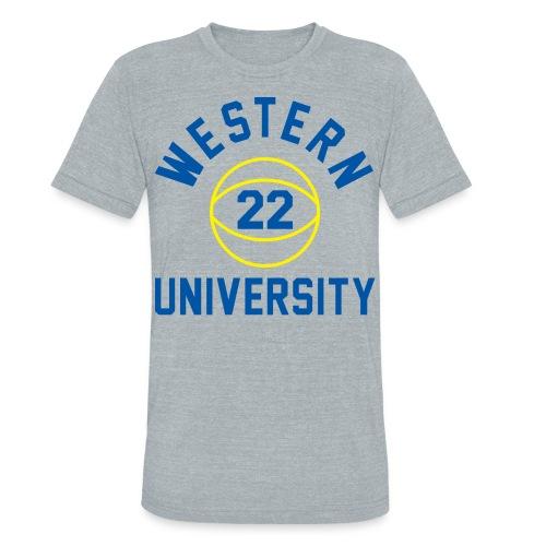 BLUE CHIPS, BUTCH McRAE - Unisex Tri-Blend T-Shirt