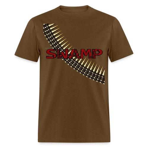 Men's Brown Swamp shirt - Men's T-Shirt
