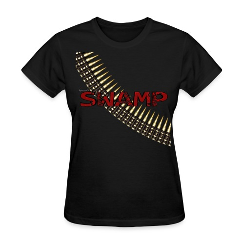 Women's Black Swamp shirt - Women's T-Shirt