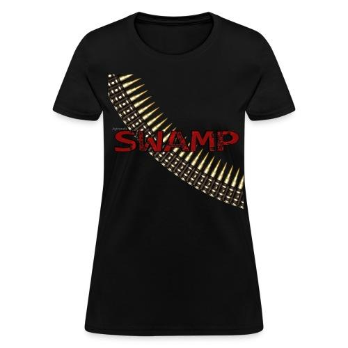 Women's Black Swamp shirt - Women's T-Shirt