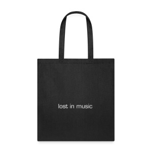 lost in music tote bag - Tote Bag