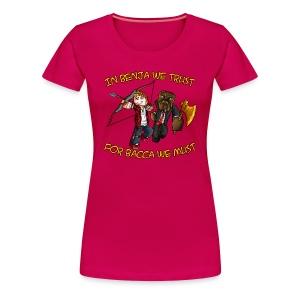 BenjaBacca T-Shirt (F) - Women's Premium T-Shirt