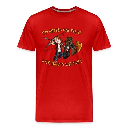 BenjaBacca T-Shirt (M) - Men's Premium T-Shirt