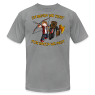 T-Shirts ~ Men's T-Shirt by American Apparel ~ BenjaBacca T-Shirt by American Apparel (M)