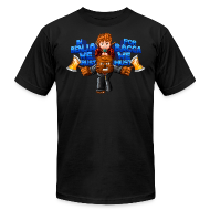 T-Shirts ~ Men's T-Shirt by American Apparel ~ BaccaBenja T-Shirt by American Apparel (M)