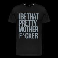 T-Shirts ~ Men's Premium T-Shirt ~ PMF Tee [metallic silver]