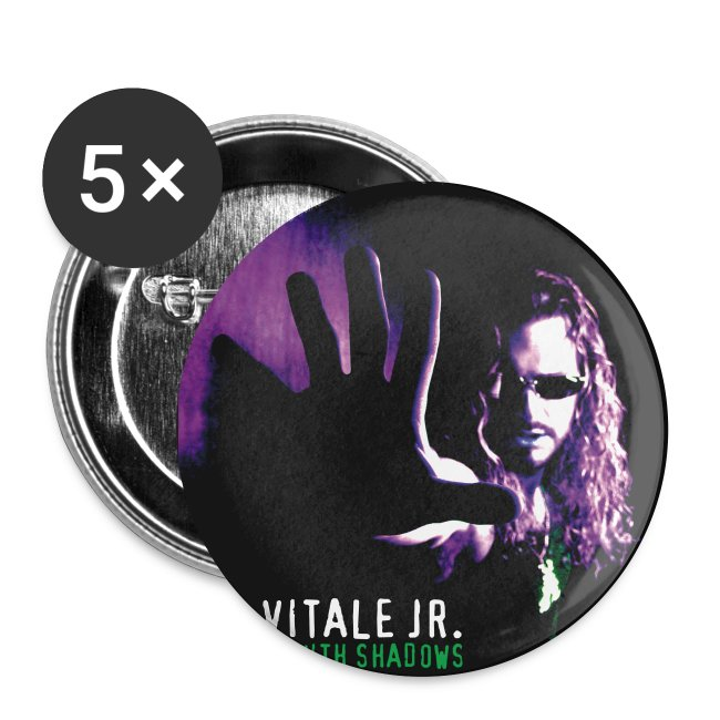 "Joe Vitale Jr ""Dancing With Shadows"" 2008 Tour Buttons"