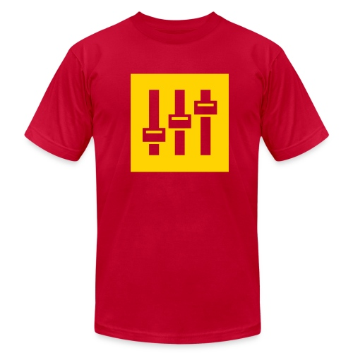Sound Fader - Men's Fine Jersey T-Shirt