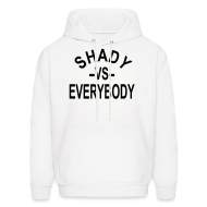 Hoodies ~ Men's Hoodie ~ shady -vs- everybody hoodies