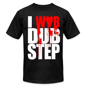 I WOB DUBSTEP - Men's T-Shirt by American Apparel