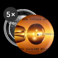 Buttons ~ Large Buttons ~ Joe Vitale Jr The Virulent Strain Tour Buttons