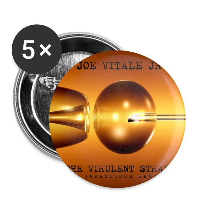 Joe Vitale Jr The Virulent Strain Tour Buttons