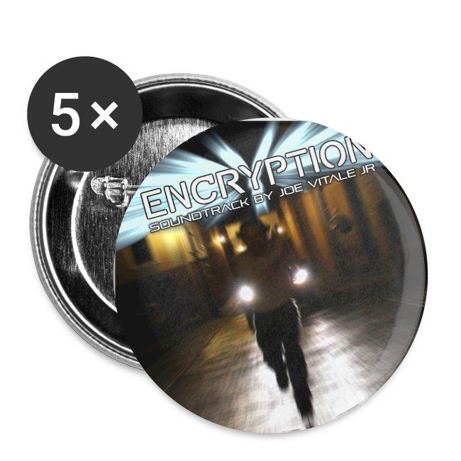 Joe Vitale Jr Encryption Film Buttons