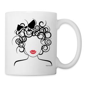 Curly Girl coffee mug/cup - Coffee/Tea Mug