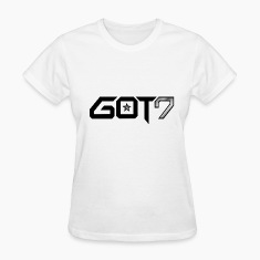 GOT7 Logo - Black Women's T-Shirts