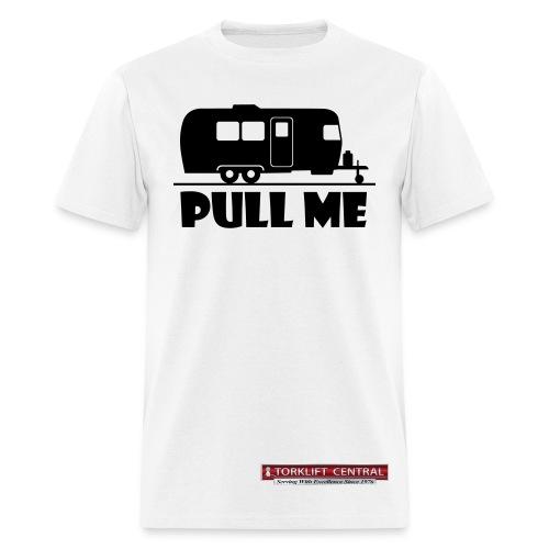Pull Me-Torklift Central-White - Men's T-Shirt