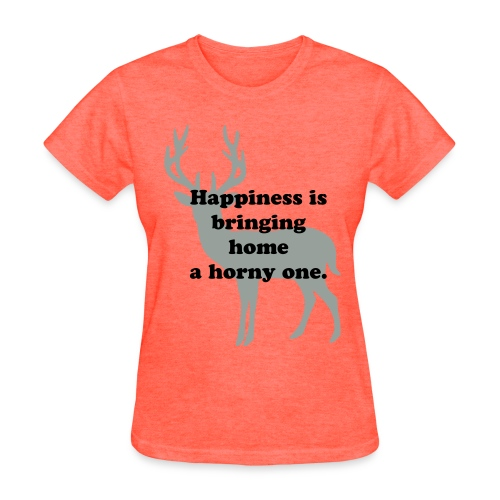 Happiness is Tee Shirt Women Size Tee - Women's T-Shirt