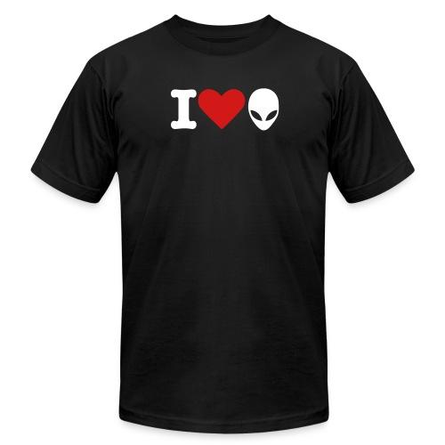 I Love Aliens - Men's  Jersey T-Shirt