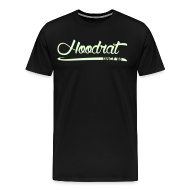 T-Shirts ~ Men's Premium T-Shirt ~ Hoodrat Since '88 [Glow in the Dark]