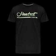 T-Shirts ~ Men's Premium T-Shirt ~ Hoodrat Since '88 [Glow in the Dark]