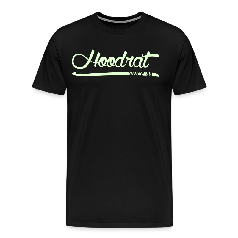 Hoodrat Since '88 [Glow in the Dark] - Men's Premium T-Shirt