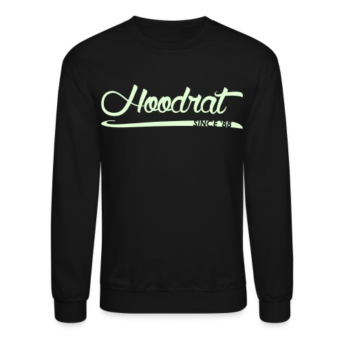 Hoodrat Since '88 [Glow in the Dark] - Crewneck Sweatshirt