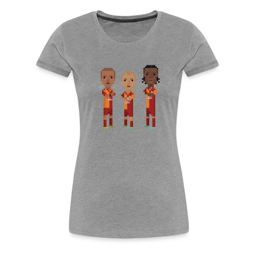 Women T-Shirt - Gala Trio - Women's Premium T-Shirt