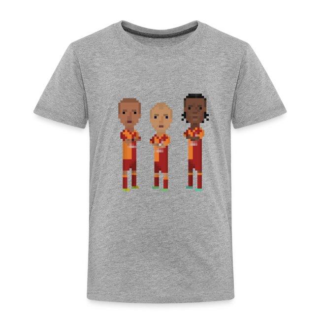 Teen T-Shirt - Gala Trio