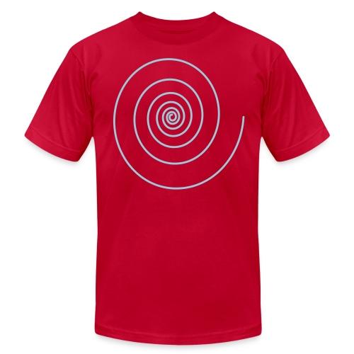 Logarithmic Spiral Hipster - Men's Fine Jersey T-Shirt